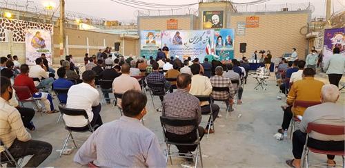 آیین آزادسازی ۷۲ زندانی معسر جرائم غیر عمد استان خوزستان برگزار شد
