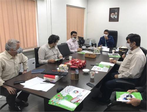 جلسه ی همکاری مسئولان فولاد خوزستان و دانشگاه شهید چمران اهواز