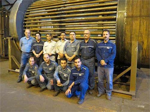 باتلاش و همت کارکنان بخش نگهداری و تعمیرات انجام شد: ترمیم و بازسازی تیوب باندل های بخش احیا در تعمیرگاه مرکزی